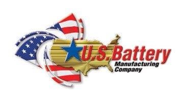 U S Battery Logo