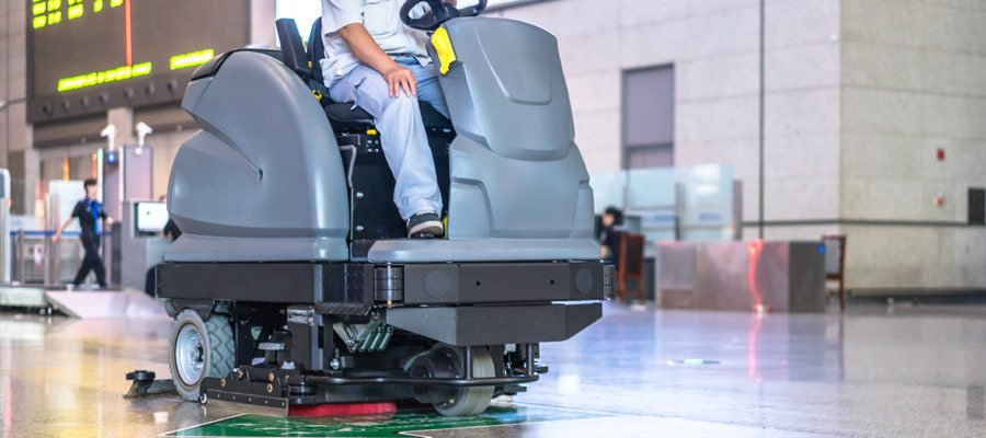 Floor Scrubber Batteries for Professional Floor Cleaning Machines