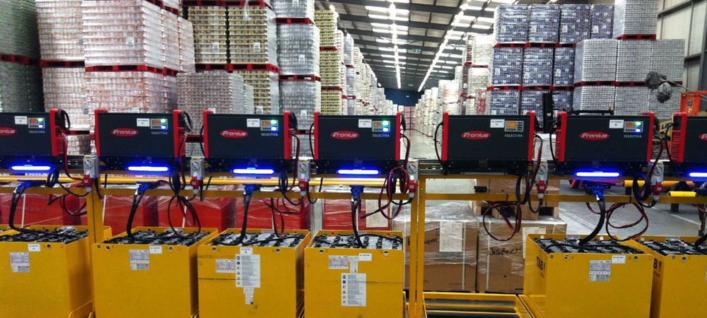 Industrial Forklift Batteries