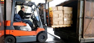 Battery Powered Forklift