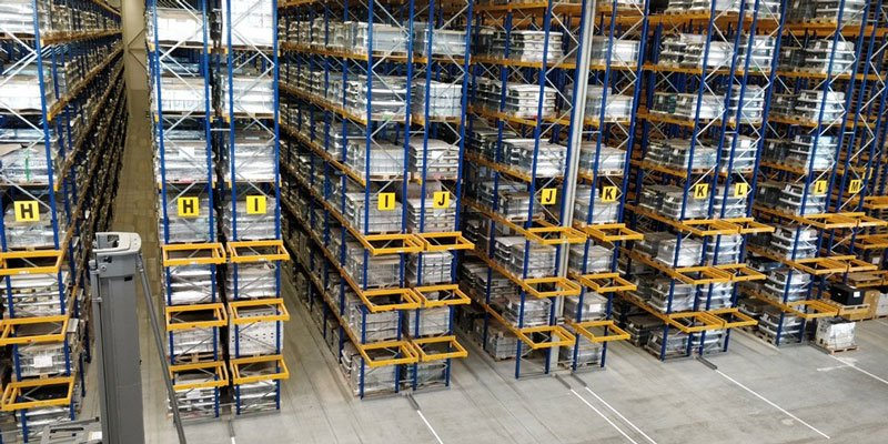 forklift batteries for materials handling