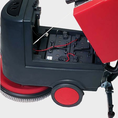 Scrubber-battery-charger