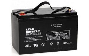 lead crystal deep cycle battery