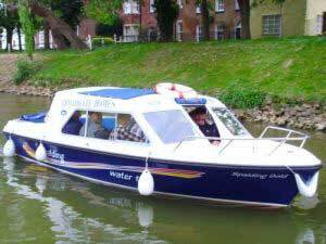 spalding water taxis using Ecobat electric boat batteries