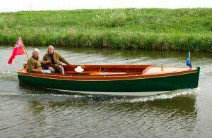 serena, conversion from steam to electric boat batteries